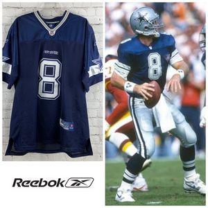 Authentic Troy Aikman Dallas Cowboys NFL Jersey
